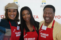 Brandy,Brandy Norwood,Eve,Billy Davies Royalty Free Stock Photos