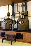 Brandy Copper Potstills Stock Photography