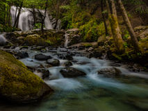 Brandy Creek Falls Royaltyfri Foto