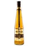 Brandy de la miel de Metaxa Fotografía de archivo