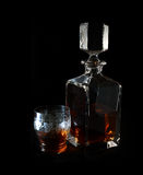 Brandy Decanter Royalty Free Stock Photography