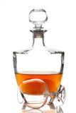 Brandy del coñac Foto de archivo libre de regalías