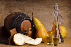 Brandy della frutta Fotografie Stock