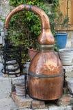 Brandy distiller Royalty Free Stock Images