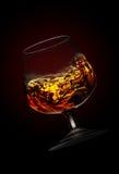 Brandy en bokal Imagenes de archivo