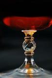 Brandy in glass Stock Image