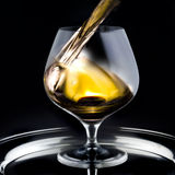 Brandy Glass Royalty Free Stock Photos