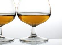 Brandy glasses Stock Images