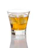 Brandy On Ice Royalty Free Stock Images