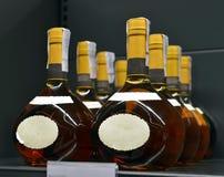 Brandy nei depositi Fotografia Stock Libera da Diritti
