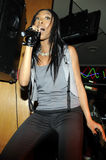 Brandy performing live. Stock Photography