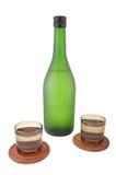Brandy servio Imagen de archivo libre de regalías