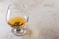 Brandy snifter Royalty Free Stock Image