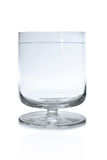 Brandy snifter glass Royalty Free Stock Photos