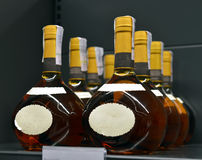 Brandy in the stores Royalty Free Stock Photo