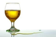 brandy szkło Obrazy Stock