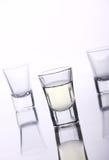 brandy szkła trzy Obraz Stock