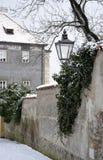 从Brandys nad Labem的建筑学 免版税库存图片
