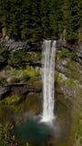 Brandywine cai perto do assobiador, BC, Canadá Fotografia de Stock