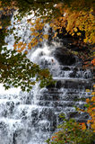 Brandywine Falls. Waterfall in Cuyahoga Valley National Recreation Area Stock Photography
