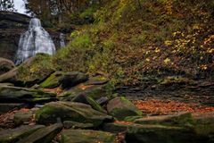 Brandywine Falls in Autumn Stock Photos