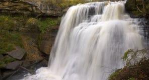 Brandywine Falls in Autumn Landscape Royalty Free Stock Image
