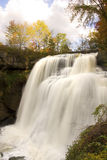 Brandywine Falls in Autumn Portrait Stock Photo