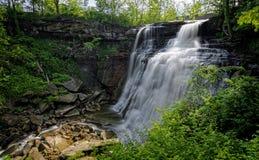 Brandywine Falls Stock Image