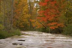 Brandywine Falls River in Autumn Stock Photos