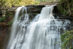 Brandywine Falls Silky Waterfall Stock Photography
