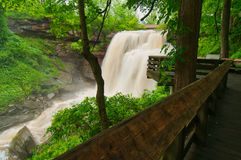Brandywine Falls torrent Stock Image