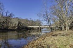 Brandywine liten vik i Wilmington, Delaware arkivbilder
