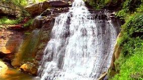 Brandywine vattenfall Ohio arkivfilmer