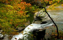 Brandywine Water Falls Stock Photography