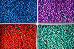 Branelli 4 colori Fotografia Stock