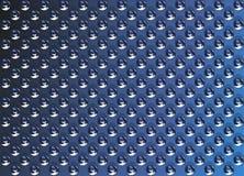 Branelli blu di struttura del metallo Fotografie Stock Libere da Diritti