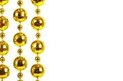Branelli celebratori brillanti di colore dorato Immagini Stock Libere da Diritti