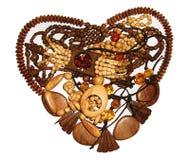 Branelli di legno con le gemme Immagini Stock