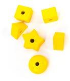 Branelli di legno del giocattolo Fotografie Stock Libere da Diritti