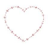 Branelli a forma di del cuore illustrazione vettoriale
