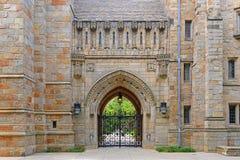 Branford Hall, uniwersytet yale, CT, usa obraz stock