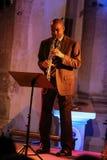 Branford Marsalis, saksofon, bawić się muzyka na żywo przy Krakowskim jazzem Wszystkie dusza dzień Festiva Zdjęcia Stock