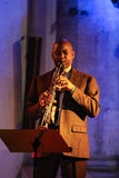 Branford Marsalis, sax, playing live music at The Cracow Jazz All Souls Day Festiva Stock Images