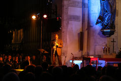 Branford Marsalis, sax, playing live music at The Cracow Jazz All Souls Day Festiva Royalty Free Stock Photos