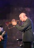 Branford Marsalis saxofon som spelar levande musik på Cracowen Jazz All Souls Day Festiva Royaltyfri Foto