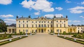 Branicki宫殿在Bialystok 图库摄影