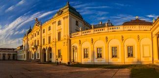 Branicki宫殿在Bialystok 免版税库存图片