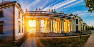 Branicki宫殿在Bialystok 库存图片