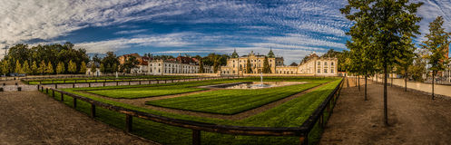 Branicki宫殿在Bialystok 免版税库存照片