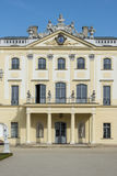Branicki Palace facade, Bialystok, Poland. Branicki Palace in Bialystok, Poland is a historical residence of Polish magnate Klemens Branicki a patron of art and stock photography